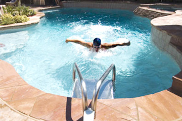 Система противотечения в бассейне